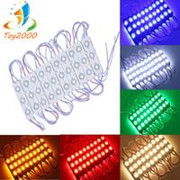 Étanche IP65 5730 de haute qualité Injection LED Module lentille 160 degré DC12V publicité LED Light Sign Shop Bannière Brighter Lumières de Noël