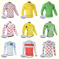 TOUR DE FRANCE team Cycling Winter Thermal Fleece jersey New...