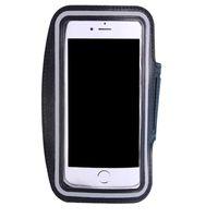 IPhone 6/7/6 S / 7 Artı Su Geçirmez Spor Koşu Kol Bandı Vaka Egzersiz Kol Bandı Tutucu Kılıfı Cep Cep Telefonu Kol Çanta Bant