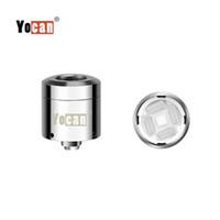 Аутентичные катушки с двойной загрузкой Yocan и Quad Quartz С магнитным основанием Wax Vape Для Yocan Loaded Starter Kit