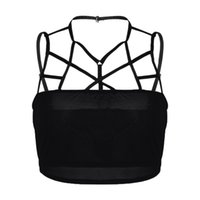 Fashion Women Sexy Camisoles Underwear Hollow Out Tanks Band...