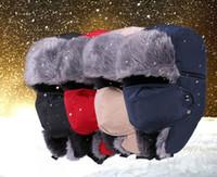 Высококачественная мужская зимняя шапка теплая сгущает снежную шапку с маской Fashion Ветрозащитный велосипедный шлем Bomber для женщин мужчин Ski Trapper Cap