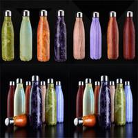 Wasserflaschen Vakuumisolierung Tasse Becher Kaffeetassen 304 Sport Edelstahl Cola Bowling Form Reisebecher 8 Farbe WX-C16