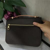Designer Klassische Tasche Blume Brief Design Element Handtasche Pochette METIS Schulter Mode Crossbody Multi Fach