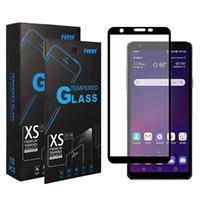 Protecteur de verre trempé de la couverture complète pour Moto G Play 2021 Power Stylus One 5G Ace Stylo 7 Aristo6 Samsung A12 A02S A52 A42 A32