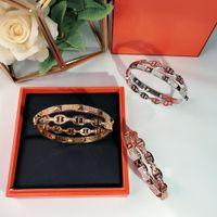 New Hot Lock Fashion Party Jewelry Jewelry for Donne Gold Tipo X Bangle Bangle Belt Belt fibbia Braccialetto lussuoso Qualità Superiore Consegna Golden Golden Consegna gratuita