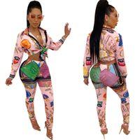 Горячая распродажа цифровая печатание спортивные стиль женский костюм S-XXL размеры длинные рукава и брюки женские одежды спортивные костюмы