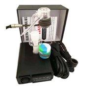 2020 Кварцевый ENail комплект электрический Dab Nail Box E мазок ногтей Banger Carb Cap 14 18 MM Мужской PID Tep Rig стекло Бонги
