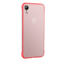 Per iphone11pro max TPU PC No Frame antiurto Matt Semi-Clear Case Cover per iPhone 11 xi 6 7 8Per quanto sacchetto del opp