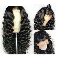 Silk Base Full Lace Human Hair Wigs Loose Wave Top Silk Full...