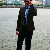 Diseño moderno con estilo Espejo Negro corbatas geométricas de la moda acrílico Hex corbata Negro del lazo de fiesta de la boda de negocios
