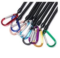 1pc intrekbare lente elastische touw beveiliging tandwiel gereedschap anti-verloren telefoon sleutelhanger draagbare vissende lanyards outdoor gereedschap
