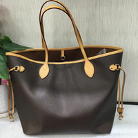 2pcs / комплект высокого Qulity классическое WOMENS сумочек цветок дама композит тотализатор PU кожа сцепление плеча сумки сумка кошельки