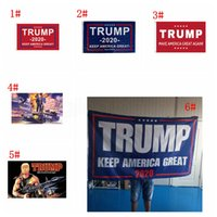 6styles 90*150cm trump flag 2020 keep America great again USA president election printed flag party decor banners FFA4047-1