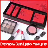Famous brand Plum Blossom Makeup Set 9 colors eyeshadow pale...