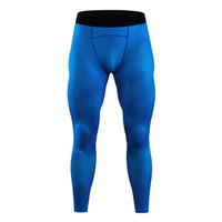 pantalon de survêtement de leggings leggings séchage rapide des hommes de compression hommes gymnase collants sport fitness course compression pantalon