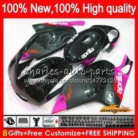 Kit para Aprilia RS125R RSV125 R RS 125 RSV125R 70NO.113 RS125 subió negro 1999 2000 2001 2003 2004 2005 RS125 99 00 01 02 03 04 05 carenado
