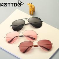Fashion Ocean дизайнер солнцезащитные очки Детские солнцезащитные очки UV400 Солнцезащитные очки круглые Симпатичные детские солнцезащитные очки мальчик девочка детские очки
