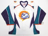Cheap custom ORLANDO SOLAR BEARS ECHL AUTHENTIC WHITE PRO CC...
