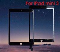 Сенсорный экран Панель замены цифрователя для iPad mini 3 с разъемом IC Бесплатная доставка