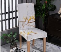 Modern Stretch Elastic Chair Covers Spandex Removable Slipco...