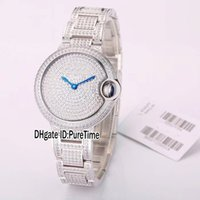 Best Version 33mm W6920084 Steel Silver All Diamond Bezel Di...