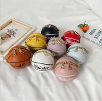 Bolsa de los niños Versión coreana de fútbol de niñas Zero Wallet Bolso de Cross-Cuerpo Encantador Moda Mini Mini Bolsos Pequeños Bebé