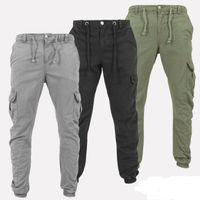NOUVEAU Tactical Cargo Pantalons de Pantalon de combat hommes coton stretch beaucoup de poches souples homme Pantalons simple XXXL