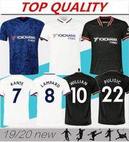 Thailand 2019 2020 Kante Wilian Pinisic Giroud Fussball Jersey Camiseta de Football Hemd 19 20 Pedro Abraham MAILLOT CAMISETAS