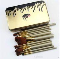 Новый макияж Brushs NK Макияж Brushs 12 Кисть для макияжа Набор кистей Powder Powder Eye Shadow Brush Бесплатная почтовая Быстрая доставка
