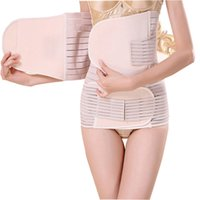 2020 3 Set Pieces postnatal Ceinture Après la taille bandage de grossesse ventre bande corset femmes enceintes Slim Shapers gros vente chaude