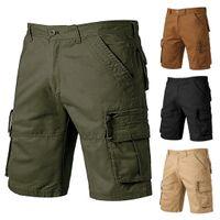 2019 estate Cargo Shorts Men Camouflage Cotone scarsità casuali Pantaloni sportivi cinque pantaloni