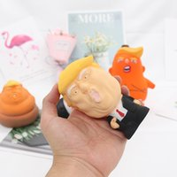 Donald Trump Stress Espremer Bola Jumbo Squishy Brinquedo Novidade Pressão Relevo Childs Boneca Pu Squeeze Divertimento Jogo Props Presentes Para Crianças Brinquedos Venda