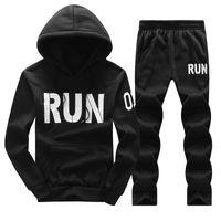 O-Neck ASALI hommes Survêtements Outwear Hoodies Zipper Sportwear Ensembles Homme Sweat Cardigan Homme Set Vêtements + Pantalons Plus Size Tendance
