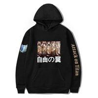 Attaque sur Titan Hoodie Wings of Freedom Mikasa Hommes Sweat-shirts japonais Anime Shingeki No Kyojin cosplay costume