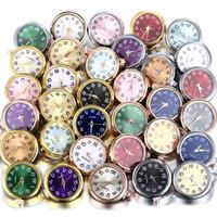 Verre Noosa 18mm Bouton Bijoux Argent Bouton d'or de travail montre pour le bricolage Snaps Bijoux Bracelet