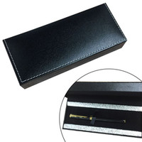 Business gift pen box leather metal pen case
