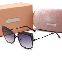 089 Nueva Plaza de Lujo Gafas de Sol Diseñador de la Marca de Las Señoras gafas de sol poligonales de Las Mujeres Marco Grande Espejo Gafas de Sol Para Mujer UV400
