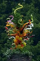 Moderne Hand Made Glasleuchter Möbel und Beleuchtung Murano Anhänger italienische Glas Beleuchtung Murano Glaslampe