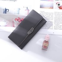 New Korean version of women' s long hand purse fashion s...