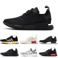 mens chaussures de créateurs pour hommes Triple Black White solaire rouge og oreo 2017 release coureurs femmes formateurs