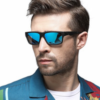 Mens Polarized Sunglasses Rectangle Driver Shades Sunglass M...