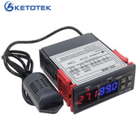 STC-3028 DC 12V Dual Digital Thermostat Hygrostat Relay Temperature Humidity Controller Regulator Thermometer Hygrometer Control Switch