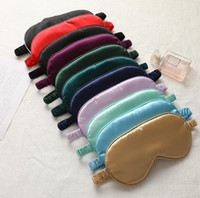 19 style Silk Rest Sleep Eye Mask Padded Shade Cover Travel ...