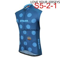 2020 Men team Cycling Vests Sleeveless Breathable quick-drying Shirts MTB Road Bike Bicycle Jersey Top Cycle Clothing K022801