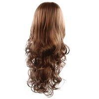 Hot selling fashion women long hair wig 24 inch three colors...