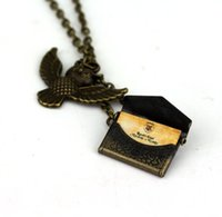 Wholesale- movie jewelry Harry letter of admission Pendant Ne...
