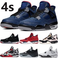 2020 Jumpman Winter bred 4 4s basketball shoes Silt Red Spla...