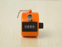 Karşı 48pcs / Lot Mini basın manuel sayaç plastik kasa akış sayacı el basın istatistik serbest shipping001