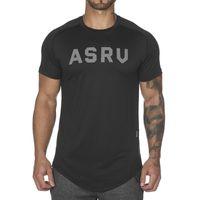 남성 t- 셔츠 피트니스 캐주얼 스타일 슬림 라운드 넥 T 셔츠는 검은 색과 흰색 T 셔츠 아시아 크기와 남성 짧은 소매 티셔츠 탑